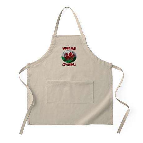Wales Cymru Apron