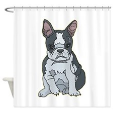 french-bulldog1.png Shower Curtain