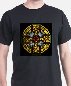 Celtic Cross Ash Grey T-Shirt T-Shirt