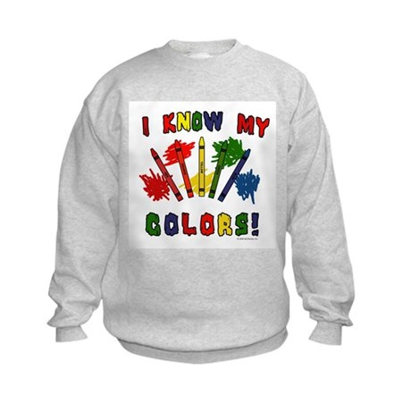 Colors Kids Sweatshirt