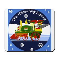 African Grey Express Mousepad
