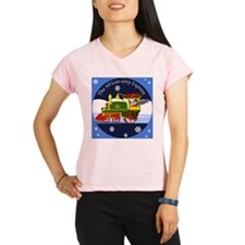 African Grey Express Performance Dry T-Shirt