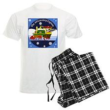 African Grey Express Pajamas