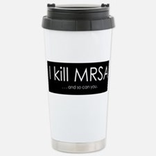 I kill MRSA Travel Mug