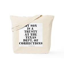 Trusty gear Tote Bag