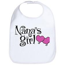 Nana's Girl Bib