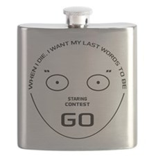 Staring Contest Flask