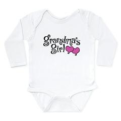 Grandma's Girl Long Sleeve Infant Bodysuit