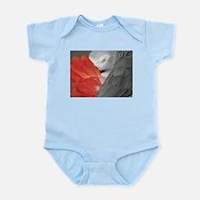 Elegant Grey Infant Bodysuit