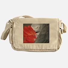 Elegant Grey Messenger Bag
