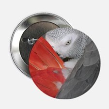 "Elegant Grey 2.25"" Button"