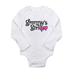 Grammy's Girl Long Sleeve Infant Bodysuit