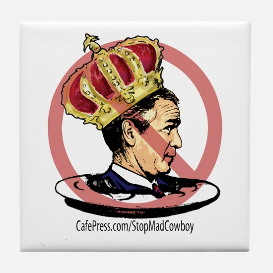 Down With King George Tile Coaster