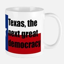 texas, next democracy Mug