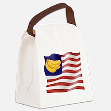Banana Republic American Flag Canvas Lunch Bag