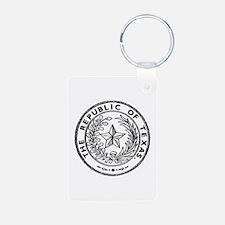 Secede Republic of Texas Keychains