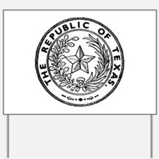 Secede Republic of Texas Yard Sign