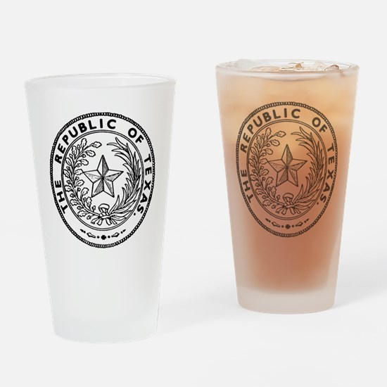 Secede Republic of Texas Drinking Glass