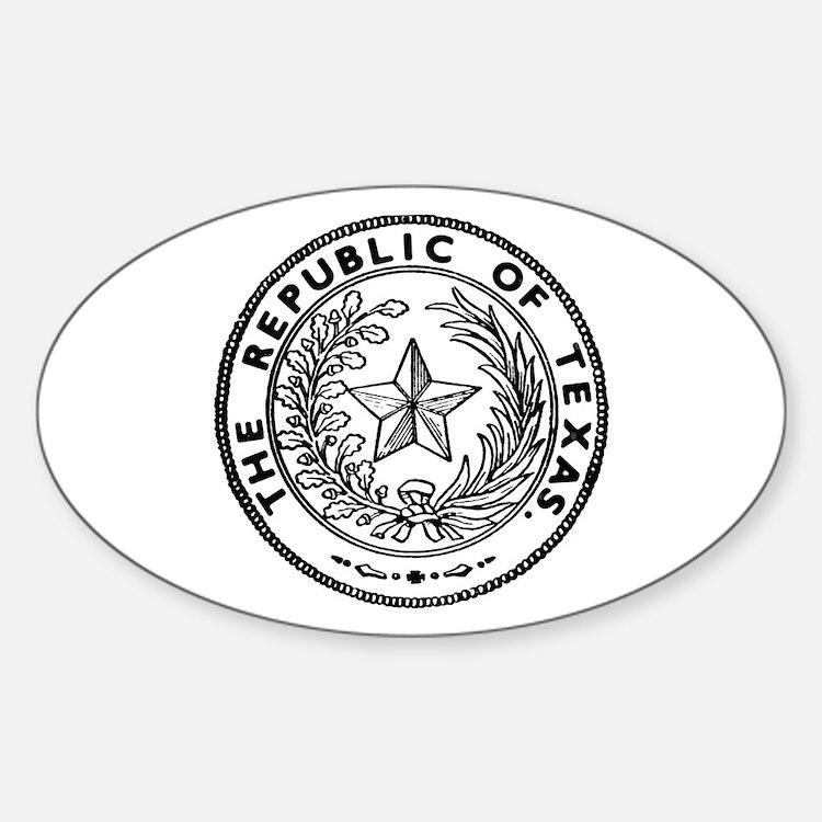 Secede Republic of Texas Decal