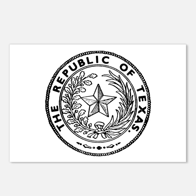 Secede Republic of Texas Postcards (Package of 8)
