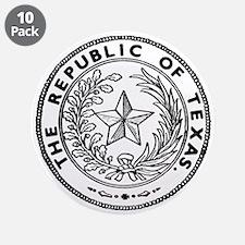 "Secede Republic of Texas 3.5"" Button (10 pack)"