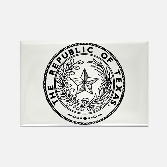 Secede Republic of Texas Rectangle Magnet
