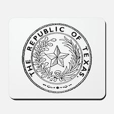 Secede Republic of Texas Mousepad