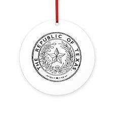 Secede Republic of Texas Ornament (Round)
