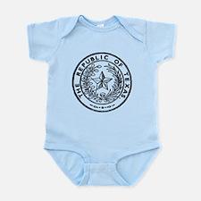 Secede Republic of Texas Infant Bodysuit