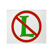 "Noel / No ""L"" Throw Blanket"