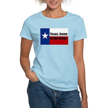 texas, home of the brave. Women's Light T-Shirt