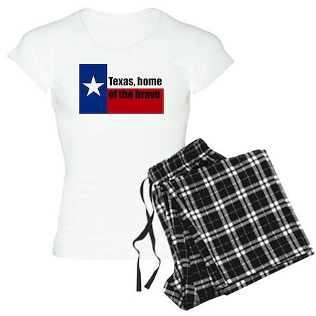 texas, home of the brave. Women's Light Pajamas