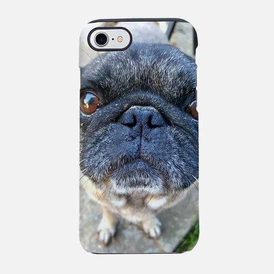 Pug Eyes iPhone 7 Tough Case