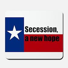 secession, a new hope Mousepad