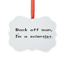 Cute Scientist Ornament