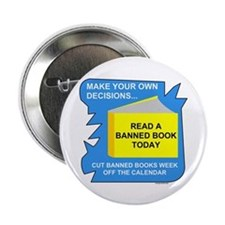 "Read Banned Books 2.25"" Button"