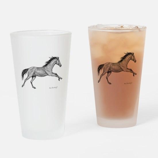 Thoroughbred ~ Drinking Glass