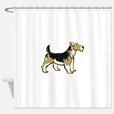 wirehair,png.png Shower Curtain