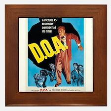 D.O.A. Framed Tile