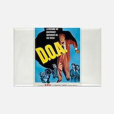 D.O.A. Rectangle Magnet
