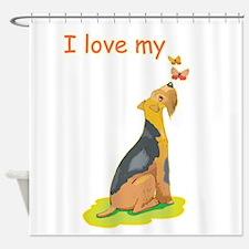 wire-hair-fox-terrier,i-lov.png Shower Curtain