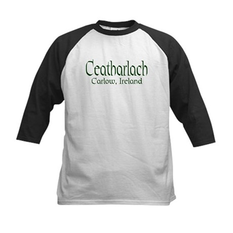 County Carlow (Gaelic) Kids Baseball Jersey