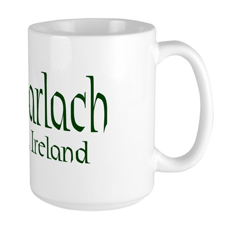 County Carlow (Gaelic) Large Mug