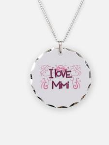 I Love Mimi Decor Necklace
