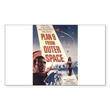 Plan 9 From Outer Space Decal