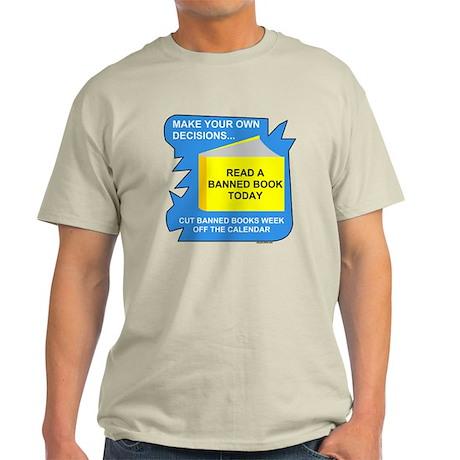Read Banned Books Light T-Shirt