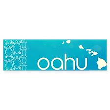oahu Bumper Sticker