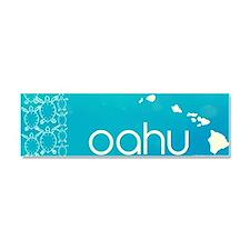 oahu Car Magnet 10 x 3