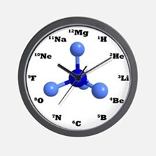 Unique Science Wall Clock