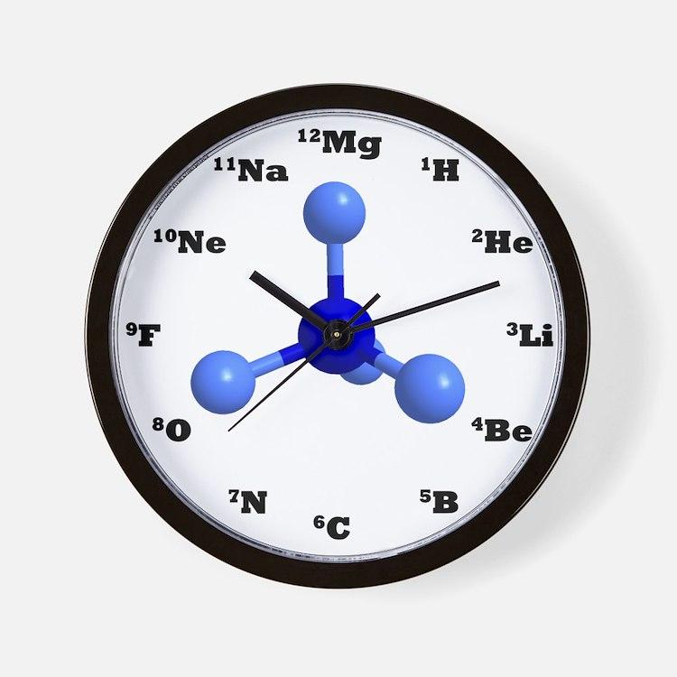 Cute Chemistry teacher Wall Clock